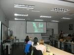 Mary Hoerner giving her presentation
